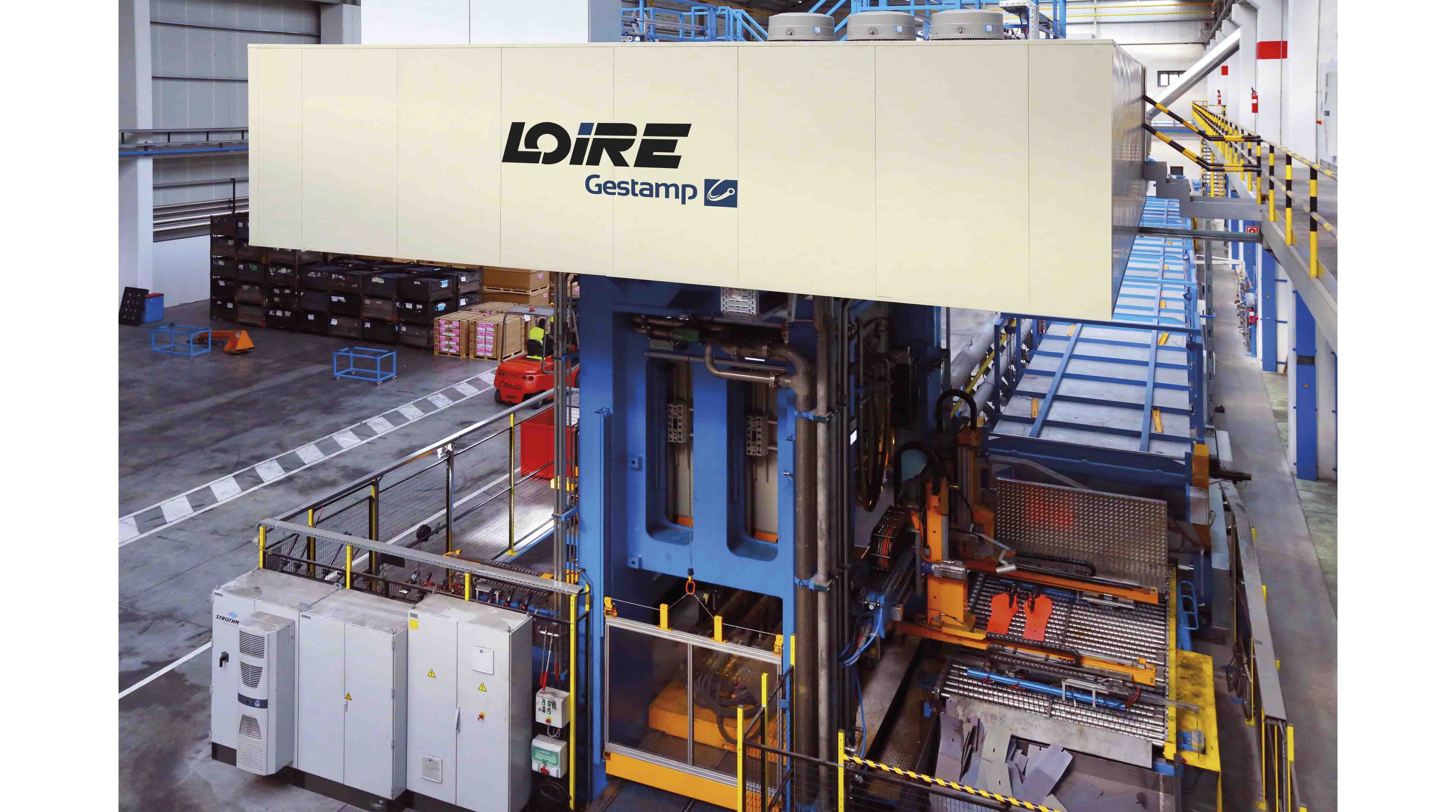 Hydraulic hot stamping presses (press hardening) PRESS HARDENING LINES