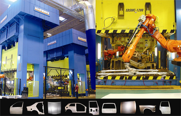 Hydraulic stamping presses PRESS LINES