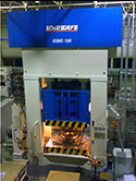 HYDRAULIC PRESS FOR AERONAUTIC