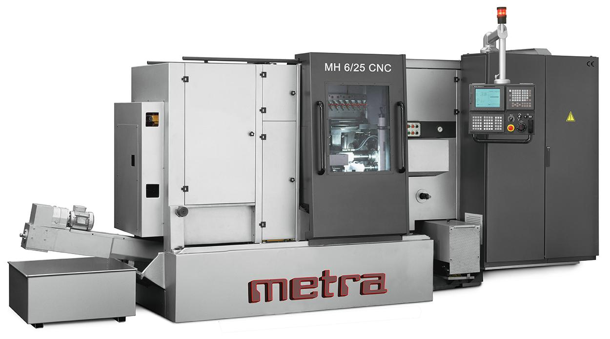METRA_CNC BAR MULTISPINDLE LATHE