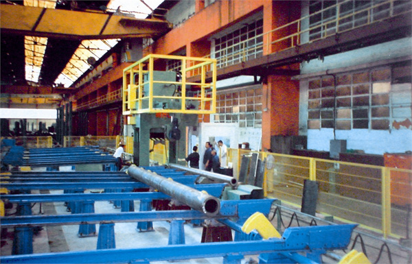 Hydraulic machines for folding/bending tubes under pressure MHG08
