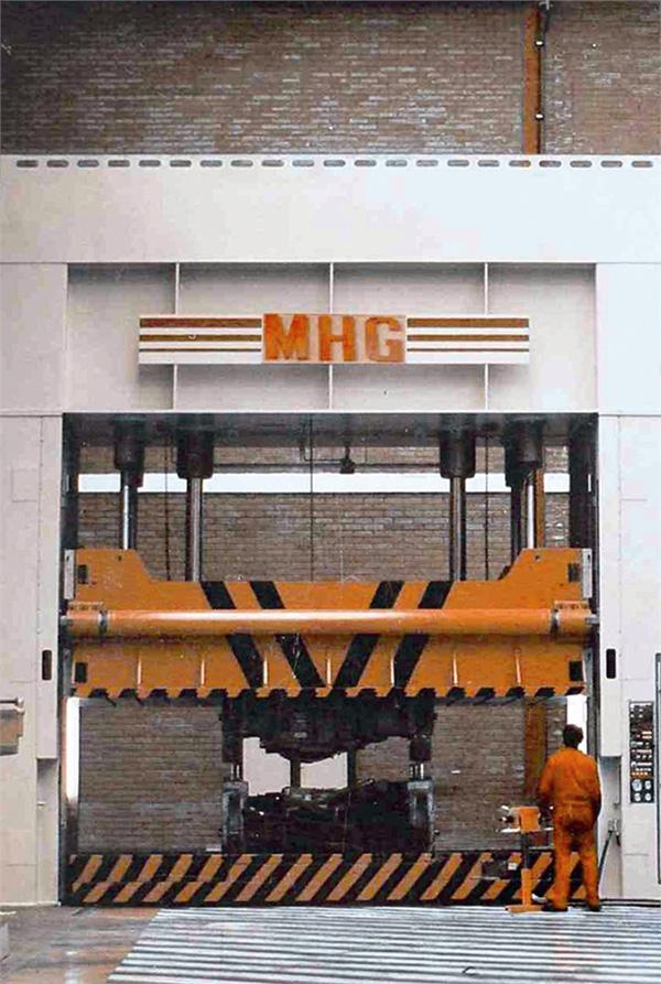 Hydraulic stamping presses MHG04