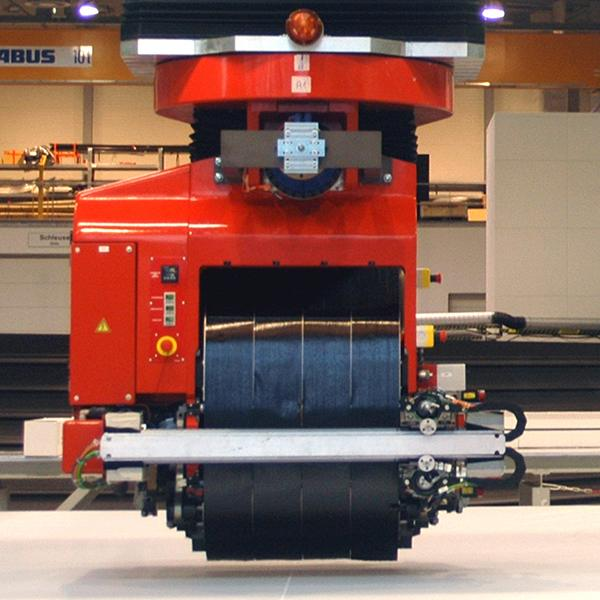 Machines for tape-layer forming of composite parts MTORRES02