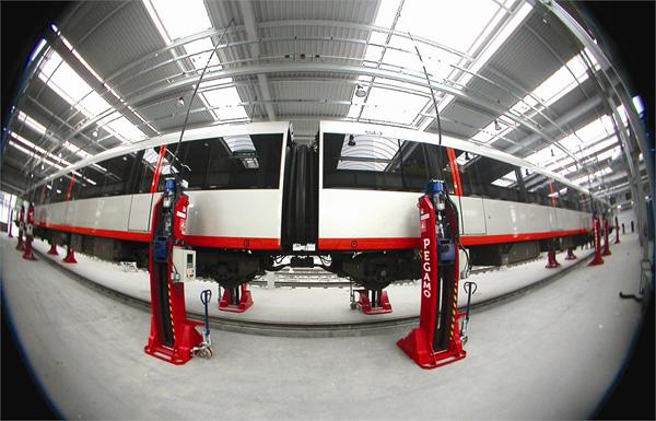 Sistemas automáticos de carga y descarga PEGAMO12