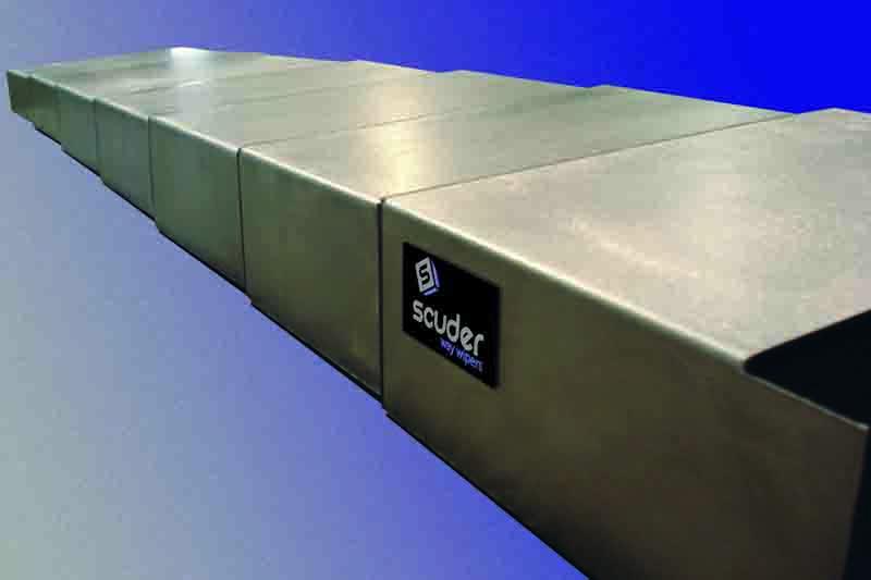 Fuelles, telescópicos, enrolladores y persianas Scuder Protecciones Telescópicas