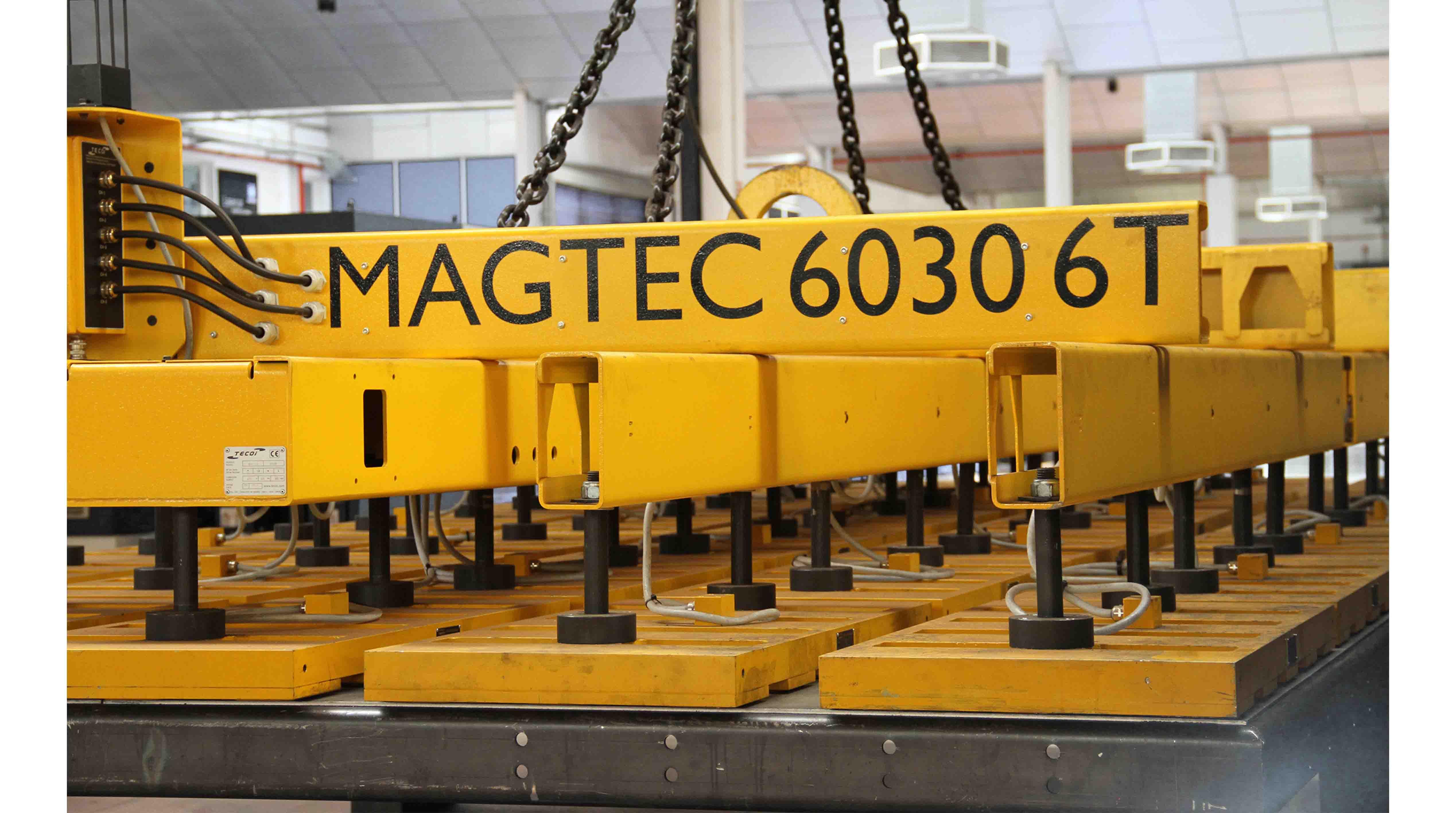 Sistemas automáticos de carga y descarga MAGTEC