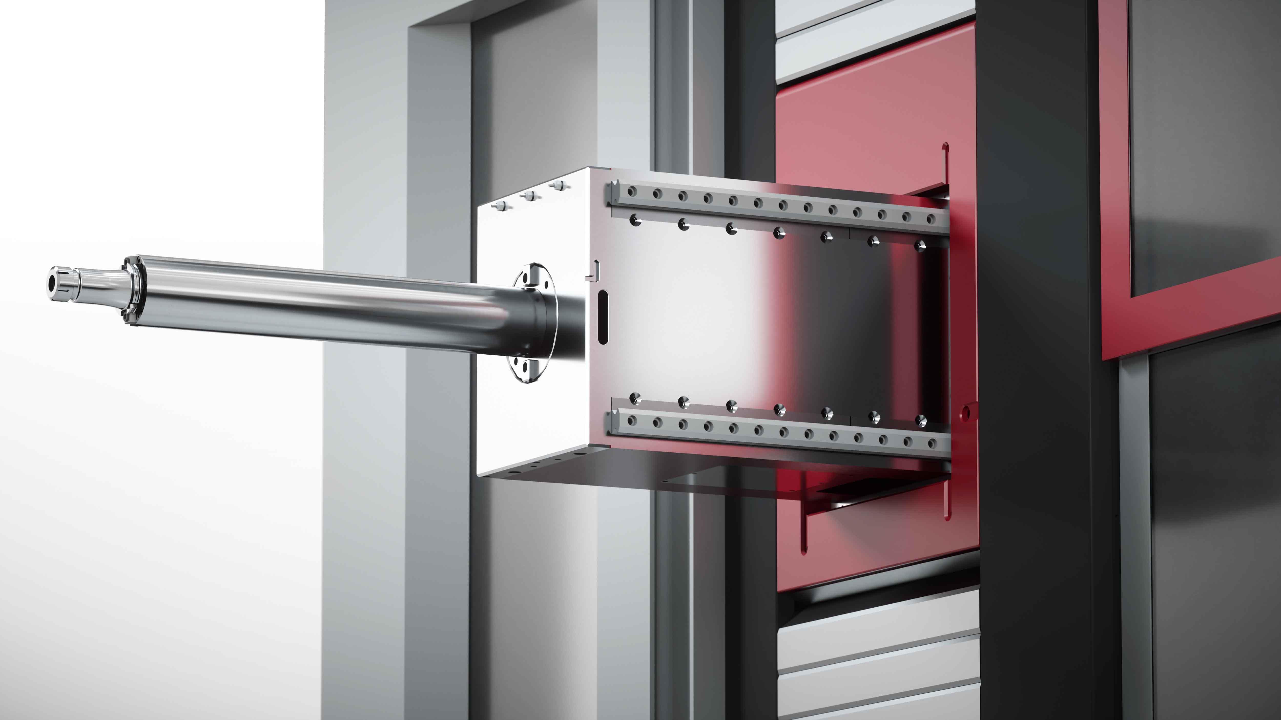 Centros de mecanizado multifunción SERIE MX-RAM - Mandrinadora-fresadora de cabezal central