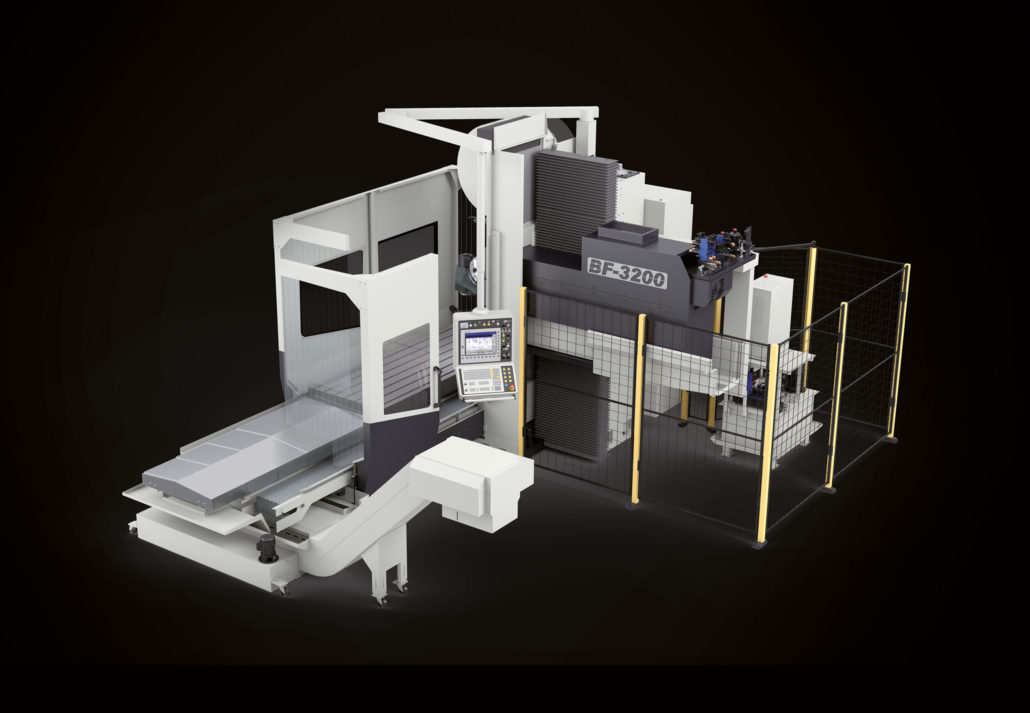 Bed type milling machines BF Model