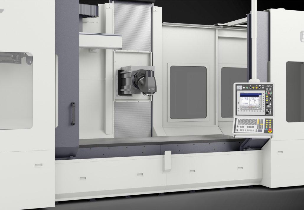 Bed type milling machines BT Model