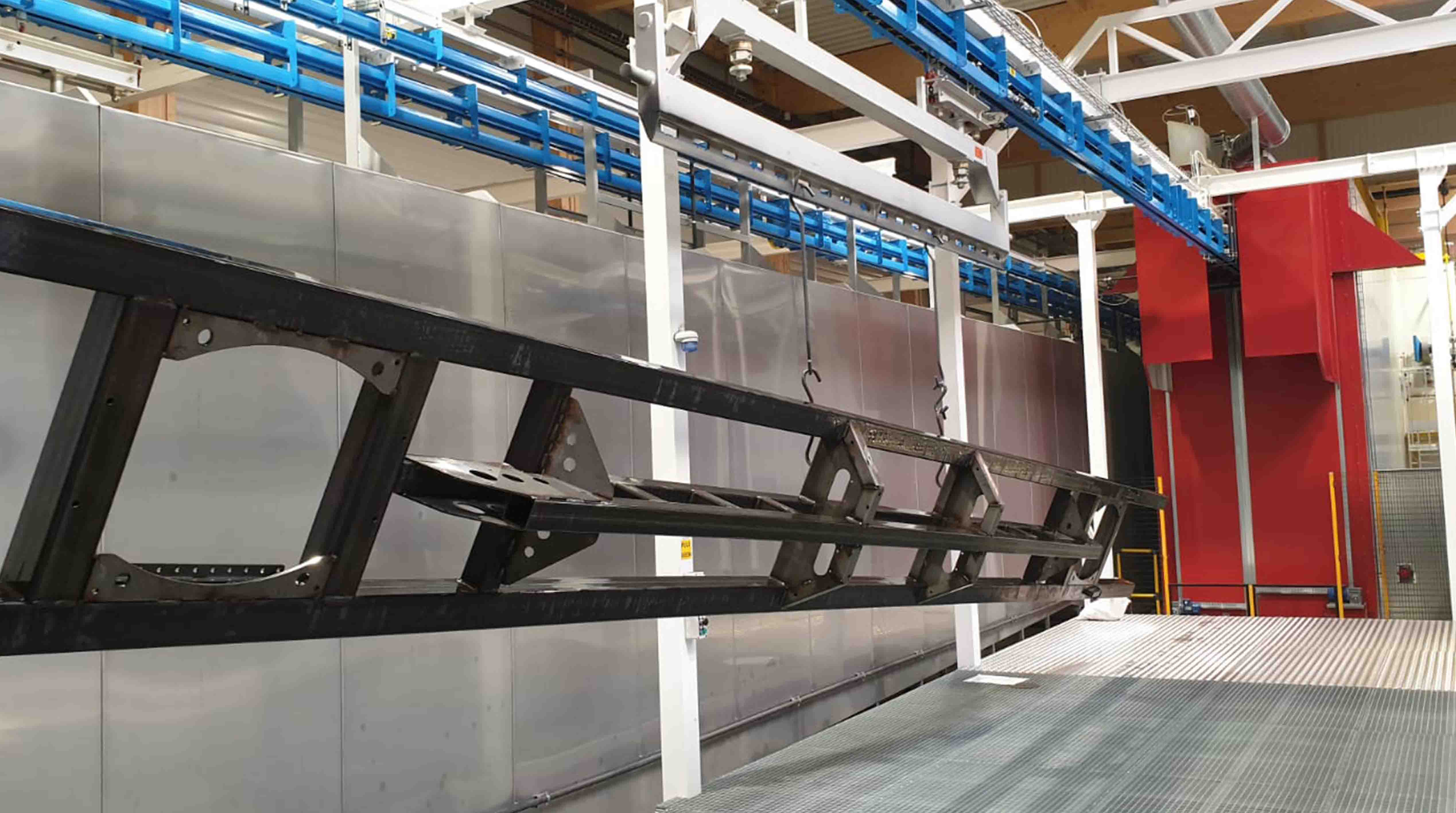 Surface and paint treatment lines AUTOMATIC INSTALLATIONS: Ovens
