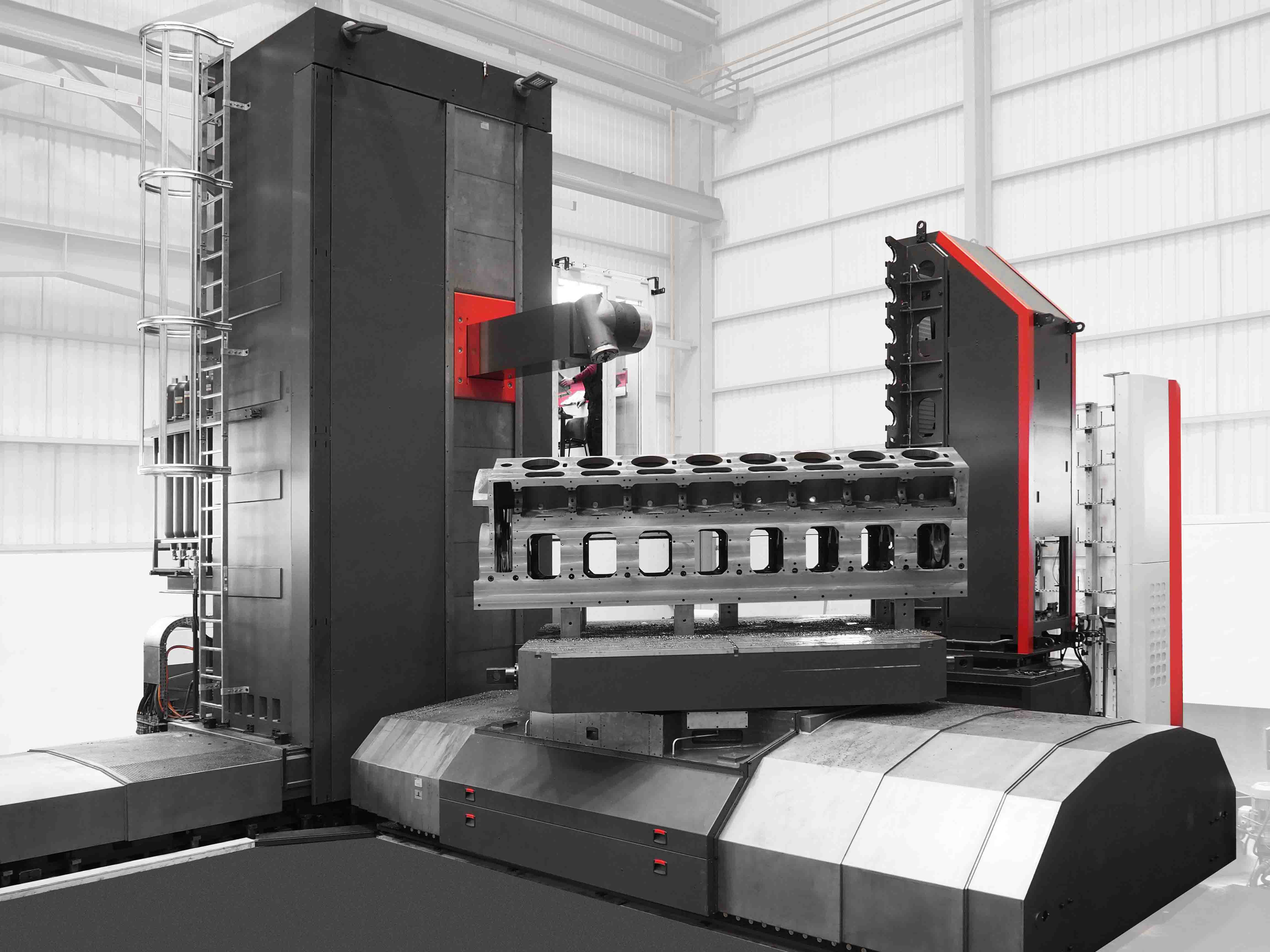 Precision floor type boring and milling machines MP-RAM SERIES - Hydrostatic Guided Boring Machine