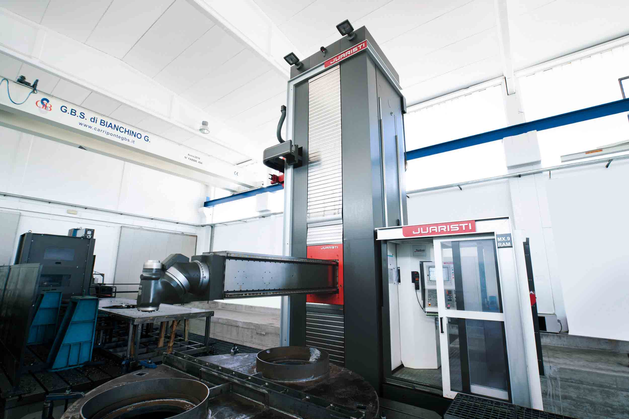 Travelling column milling machines MX SERIES - Moving column milling machine with central head