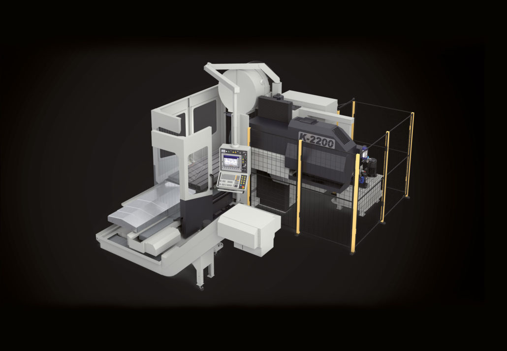 Bed type milling machines K Model