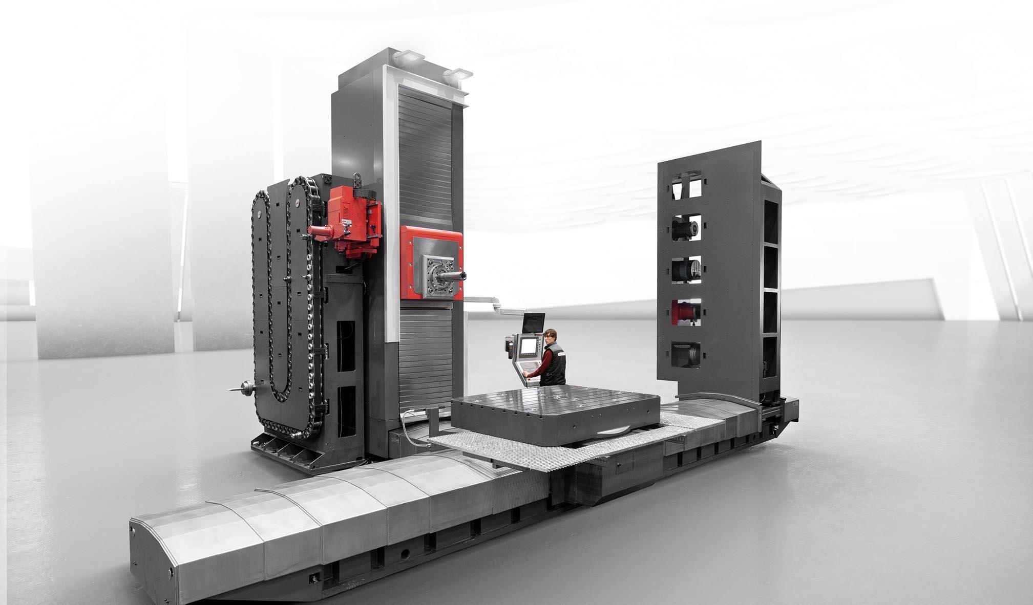 Centros de mecanizado multifunción SERIE TX-S - Centro de mandrinado-fresado tipo planer