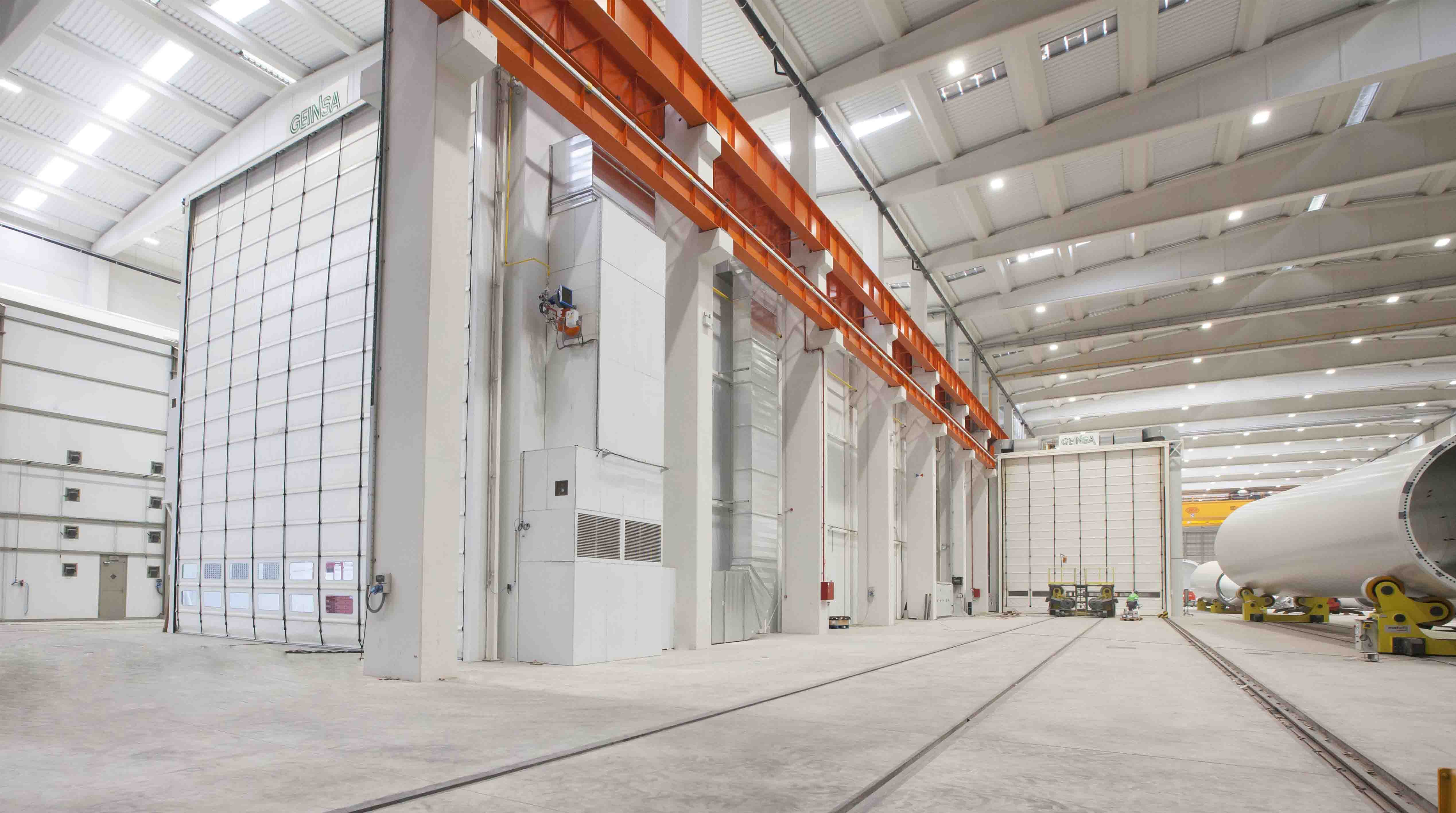 Surface and paint treatment lines STATIC INSTALLATIONS: Paint booths and drying oven