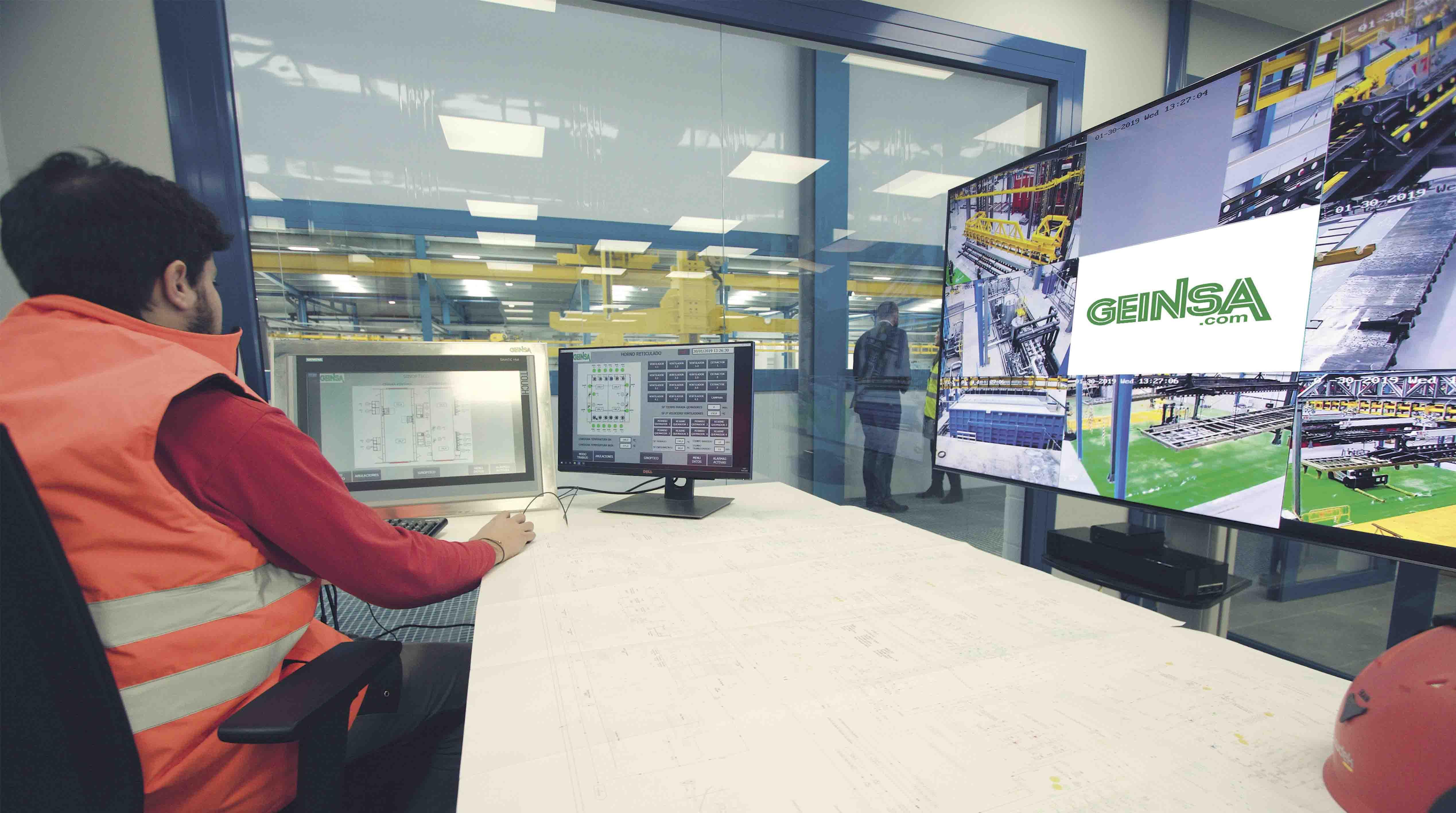 Líneas de tratamiento de superficie y pintura TECNOLOGÍA DE CONTROL Y COMUNICACIÓN