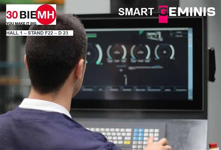 Geminis presentará su nuevo Smart HMI en la #BIEMH2018
