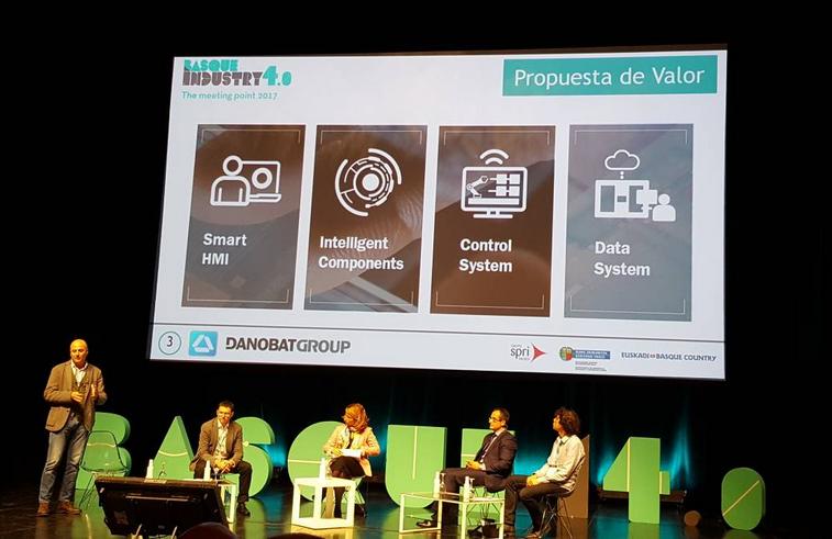 DANOBATGROUP comparte sus capacidades en digitalización en el foro vasco de la industria 4.0