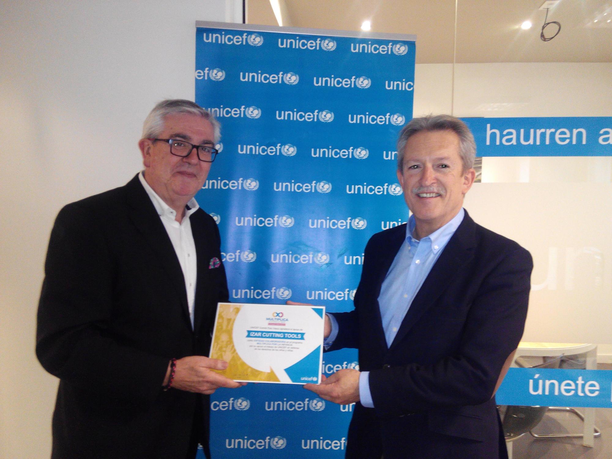"""IZAR participa en la iniciativa """"Multiplica por la Infancia"""" de UNICEF"""