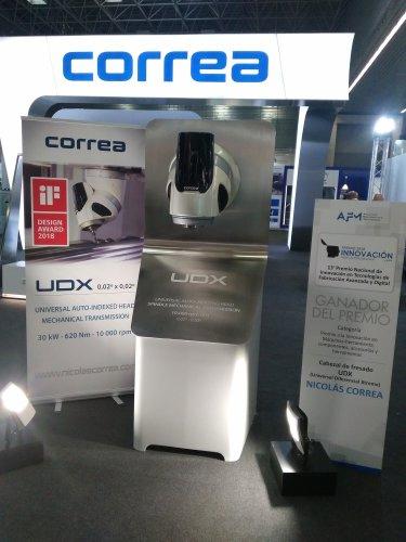 NICOLÁS CORREA, ganador del premio de Innovación en Fabricación Avanzada y Digital 2018
