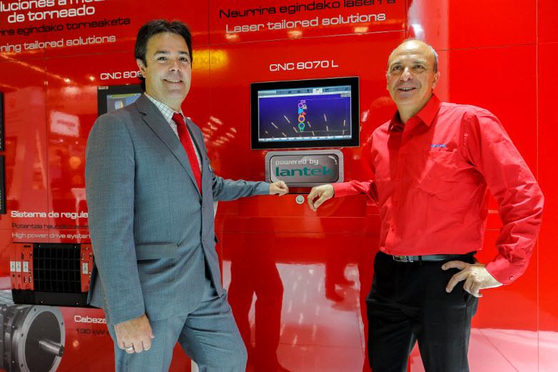 LANTEK y FAGOR AUTOMATION llevan la innovación avanzada a las máquinas de corte por láser de fibra