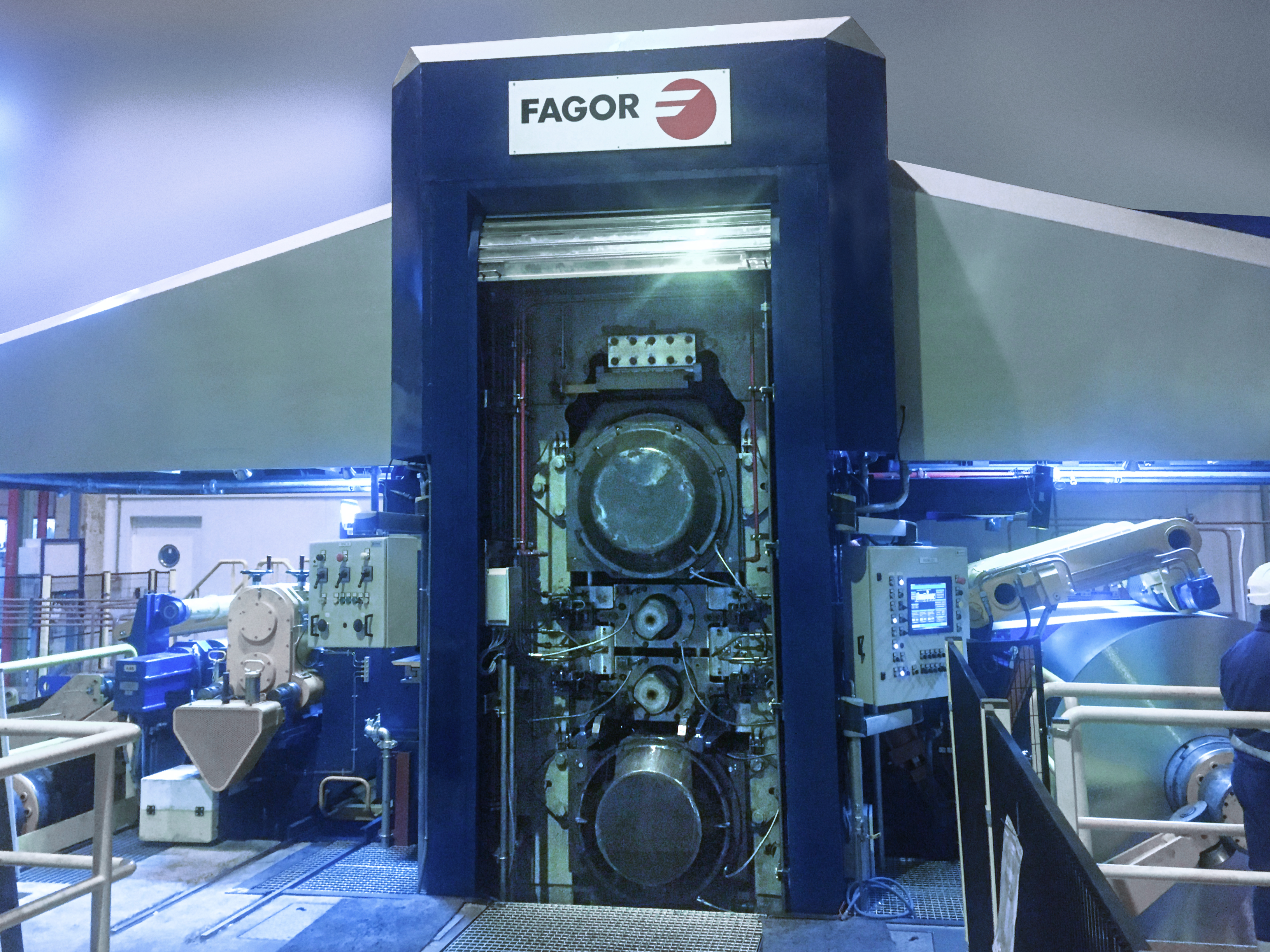 Un laminador en frío de aluminio de FAGOR ARRASATE aumenta y diversifica la producción de IBERFOIL