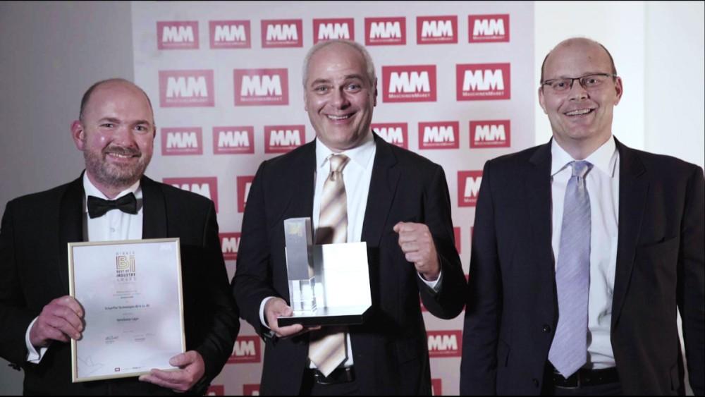 El rodamiento VarioSense de Schaeffler gana el premio ·Best of Industry·