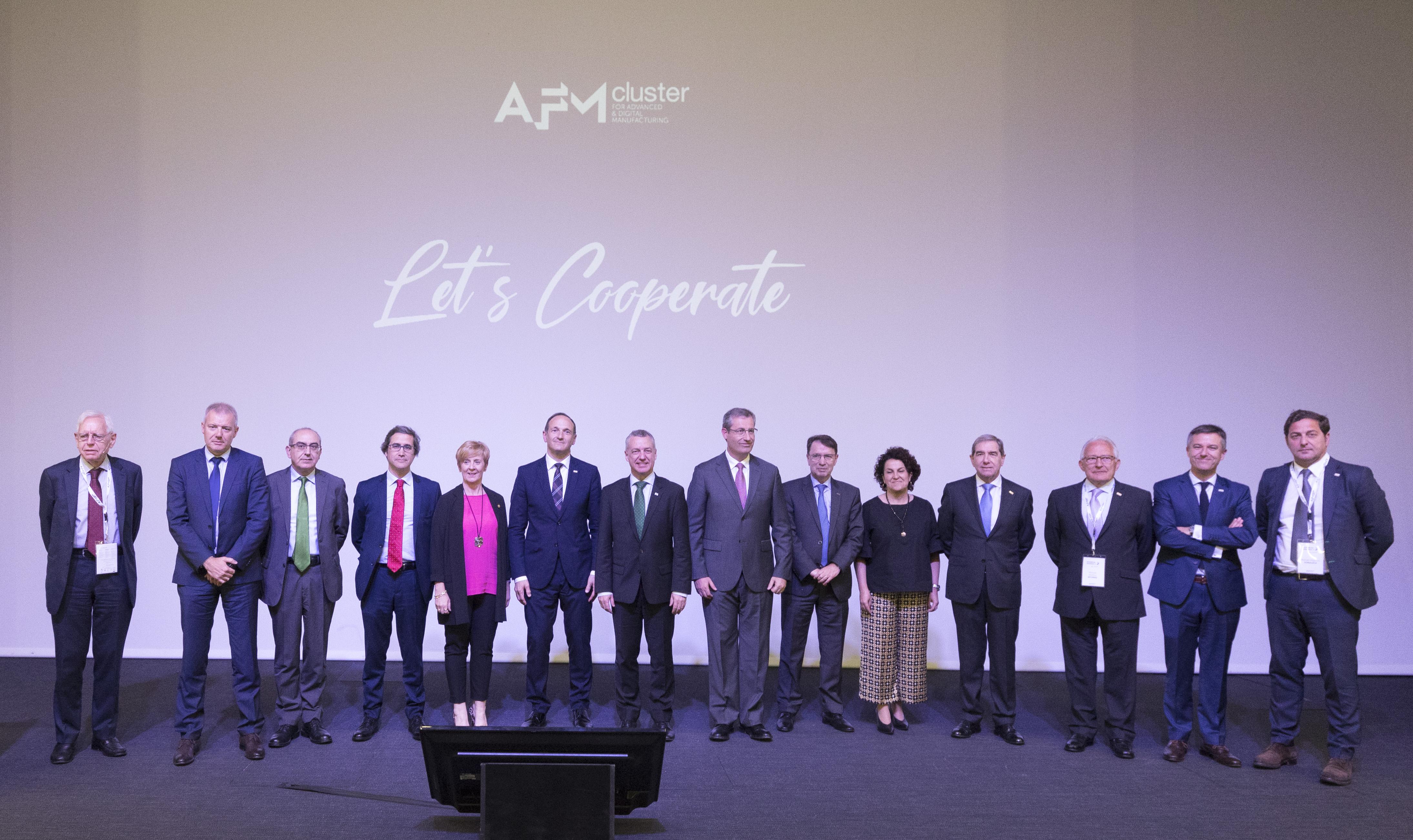 El Lehendakari presidió la Asamblea General de AFM